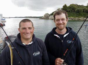 Apprendre les techniques de pêche avec Yoann et Yann